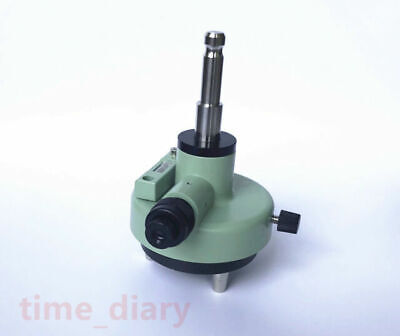New Green Three-jaw Metal Tribrach Adapter With Optical Plummet Fits Leica Prism