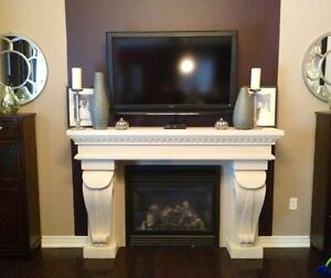 Sale 52%off  Cast Stone Fireplace Mantels Mantle + Free shipping