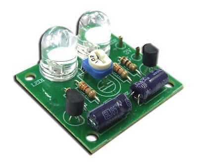 Two LED Jumbo adjustable flasher for electronic student [ Unassembled kit ]