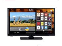 "Bush 24"" HD ready LED smart TV dvd combo"