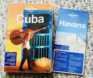 Cuba - Lonely Planet Guide Book - 8th Edition - Current!