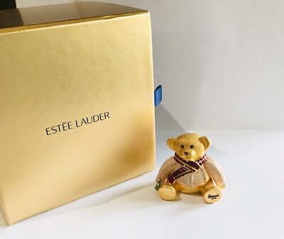 "2002 HARRODS/Estee Lauder Pleasures ""HARRODS TEDDY BEAR"" Solid Perfume Compact"