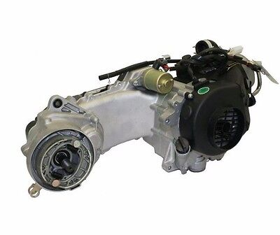 GY6 50CC 4 Stroke Short Case complete Engine 1P39QMB Kit for Most Gas - 50 Cc Gy6 Engine