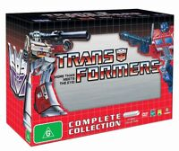 Complete transformers animated series and movie