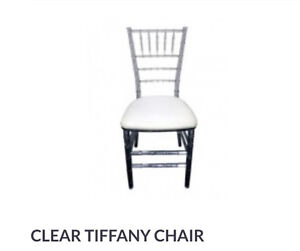 Black White Gold Silver Tiffany chair and Gold White Chanel chair Peakhurst Hurstville Area Preview