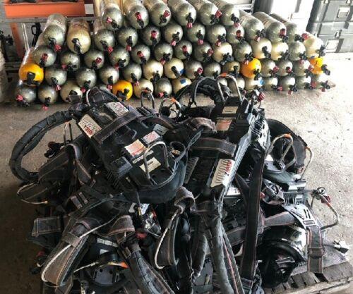 ISI VIKING Z-SEVEN 4.5 HIGH PRESSURE SCBA PACK 4500 PSI 45 MIN USED GOOD SHAPE