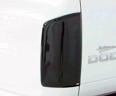 2-Piece Smoke Tail Light Covers for 2002 - 2006 Dodge Ram 1500 (Smoke Tail Light Covers)