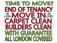 From £30 SHORT NOTICE END OF TENANCY CLEANING, CARPET CLEANING, PROFESSIONAL DEEP CLEANERS LONDON