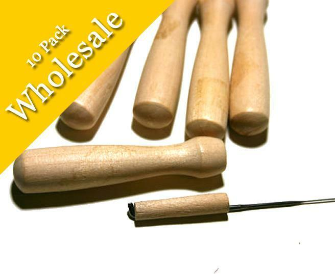 Wooden Needle Felting Holder - Wholesale - 10 Pack