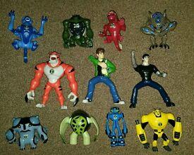 Ben 10 Ultimate Alien - 11 action figures