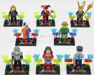 Building block figurine - DC & Marvel minifigures