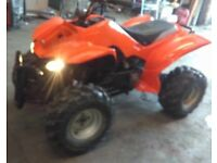 Qaud 150cc auto minter everything works as it should