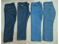 4 x PAIRS NEARLY NEW MEN'S JEANS W40 L30