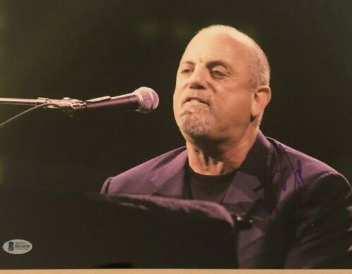 Billy Joel signed autographed 11x14 Photo Piano Man Beckett Authenticated COA