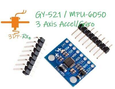 Gy-521 Mpu-6050 Module 3axial Gyroscope Accelerometer Same Day Arduino Mpu 6050