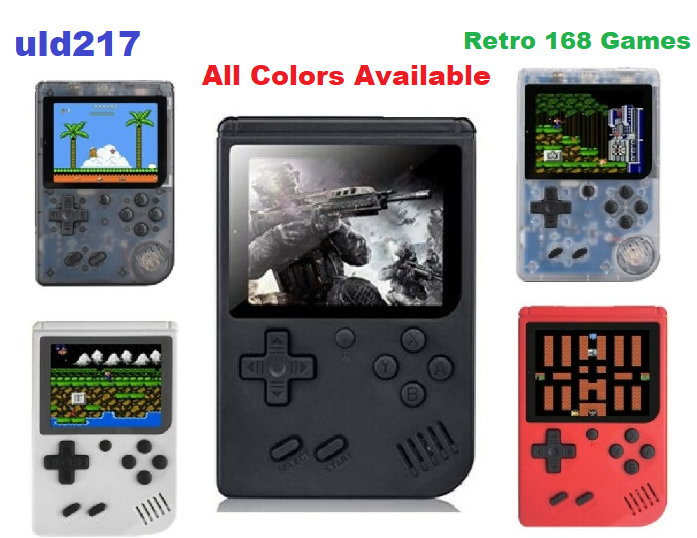 handheld retro 168 games in 1 tv