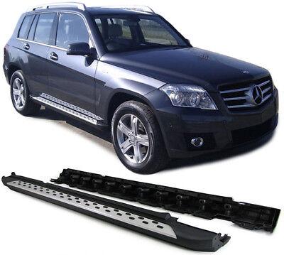 Alu Trittbretter Flankenschutz OE Style mit ABE !!  für Mercedes GLK X204 08-15
