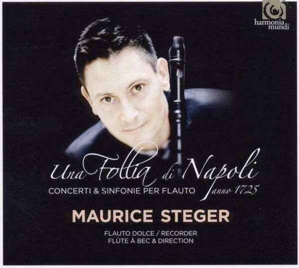 MAURICE STEGER / UNA FOLLIA DI NAPOLI - CD * NEW & SEALED * NEU *