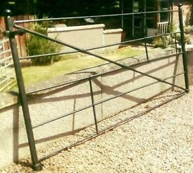 Antique Iron Estate Gate or Field Gate.