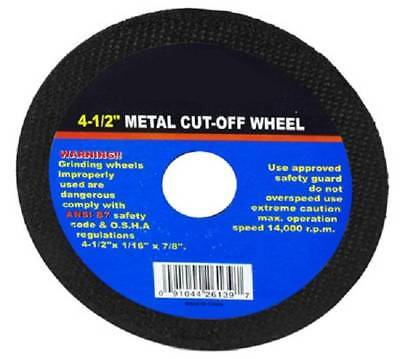 50 4.5 Inch Grinding Cut Off Wheel Disc 116 Tools 78 Arbor Angle Grinder