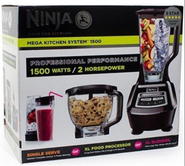 Brand New Sealed in Box Ninja MEGA Kitchen System 1500 (BL770)  + 1 Yr WARRANTY