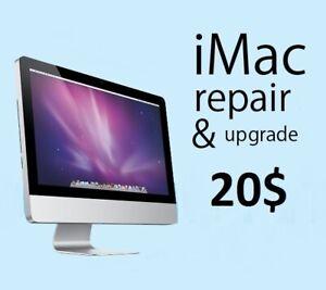 20$ - iMac repair and upgrade