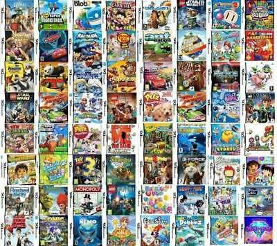 300 GIOCHI DS PER BAMBINA O BAMBINO NINTENDO NEW 2DS XL-3DS XL-3DS-NDS R4