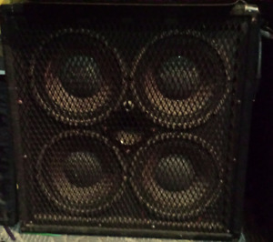 Bass Amp Rig - 4x10 with either Hartke or Yorkville Head