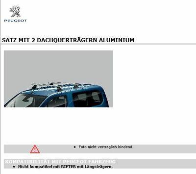 NORDRIVE KARGO Dachträger 3-Träger für PEUGEOT PARTNER 1-1996-2008