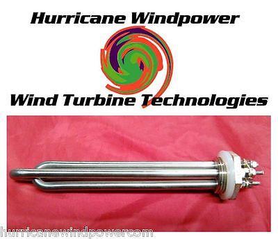 DC Water Heater Element 12 Volt 300 Watt for Wind Generator Solar Water Heating
