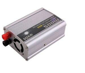INVERTER-500W-WATT-12V-220V-TRASFORMATORE-AUTO-BARCA-CAMPEGGIO-PC-PRESA-USB-SG