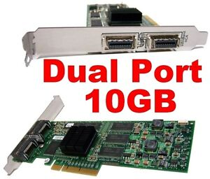 Voltaire-400Ex-Dual-Port-4x-10GB-PCIe-HCA-128MB-501S12317-IBM-400-EX-Infiniband