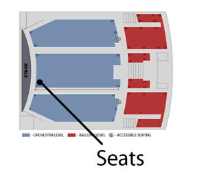 Rufus Wainwright tickets --- 2nd row from stage -- Toronto