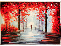 Autumn oil painting for sale
