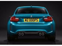 Cherished Number Plate M2 00OPS / M200OPS ~ BMW M2 / Initials PS