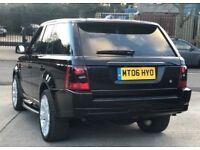 2006 Range Rover Sport TD 2,7 litre V6 diesel 5dr automatic 1 owner