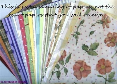"Huge Lot 250 Sheets 12x12"" Scrapbooking Paper, Vellum Choose Mixed Design, Asian"