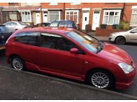 Honda civic 1.6 ep2 sport milano red price to sell!! Look