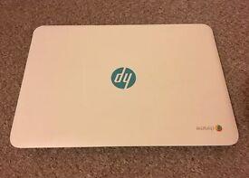 HP chromebook turquoise