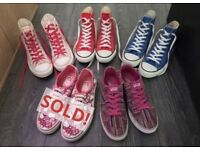 Vans and Converse for sale!