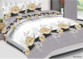 NEW UK CHOICE BEDDING SET IN PACKING 4 pieces