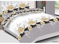 NEW UK CHOICE DOUBLE SIZE BEDDING SET IN PACKING 4 pieces