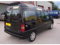 Hackney cabs taxis for rent in Wolverhampton.