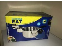 Cook&Eat 3pc pans