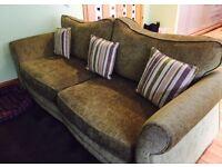 Two 4-seater DFS sofas £150 ono