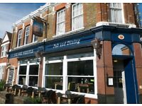 Part time Barstaff wanted in Earlsfield