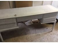 Shabby chic desk unit