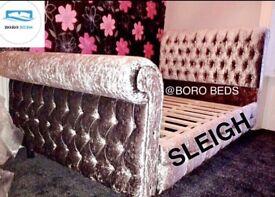 BESPOKE - CRUSHED VELVET BEDS