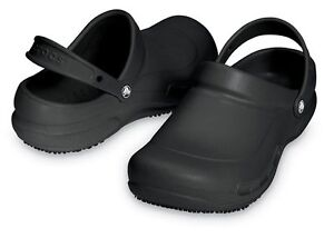 Women's professional black crocs