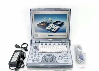 Ge Logiq E Ultrasound System With 2 Probes 9lrs 4crs